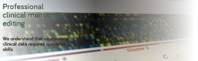 Scientific manuscript editing services